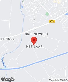 Locatie Garagebedrijf Sloots op kaart