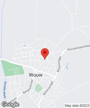 Locatie P.J.C.M. van Overveld op kaart