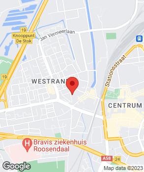 Locatie Vergunst op kaart