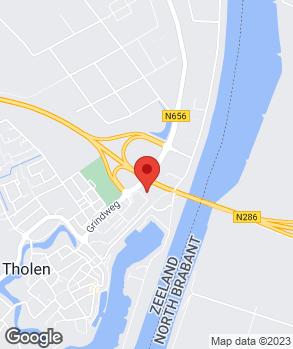 Locatie Autobedrijf Eskes Tholen B.V. op kaart