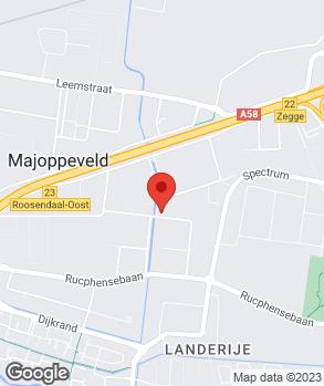 Locatie Autobedrijf C.V./d Broek op kaart