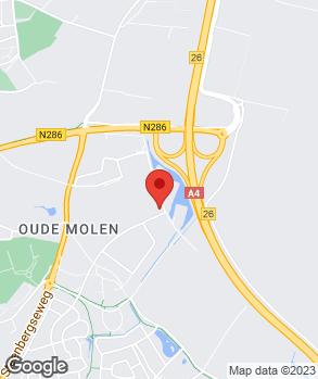 Locatie Autobedrijf Eskes Bergen op Zoom B.V. op kaart