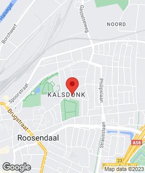 Locatie Autohandel Van Baal op kaart