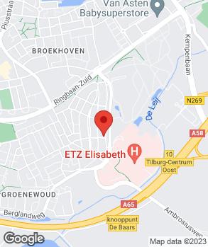 Locatie Autohandel Van der Velden op kaart