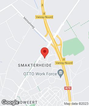 Locatie Autocentrum Van de Weem Venray B.V. op kaart