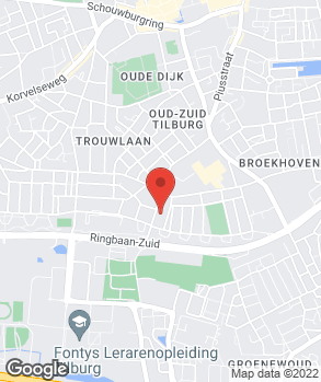 Locatie Automobielbedrijf Bink Tilburg op kaart