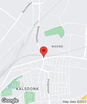 Locatie Autobedrijf R. Finders op kaart