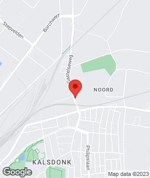 Locatie A. den Hollander Autobedrijf op kaart