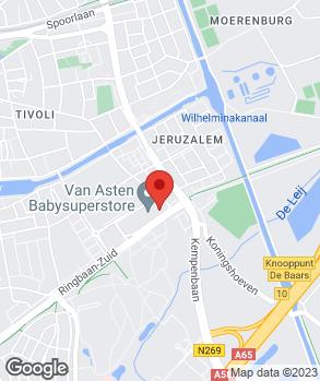 Locatie Van Roosmalen Tilburg op kaart