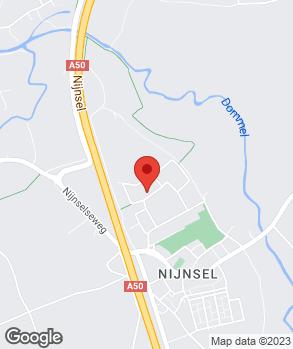 Locatie Autobedrijf M. van den Brand op kaart