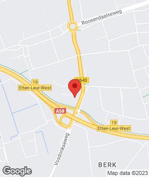Locatie Dacia Indumij Etten-Leur op kaart