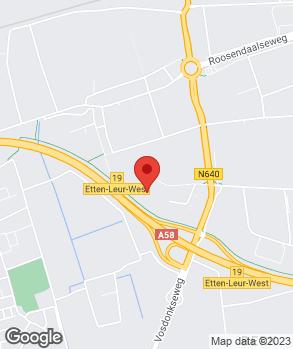 Locatie Vriens Opel | Vriens Etten-Leur op kaart