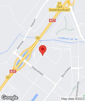 Locatie AutoRomme Roosendaal B.V. op kaart