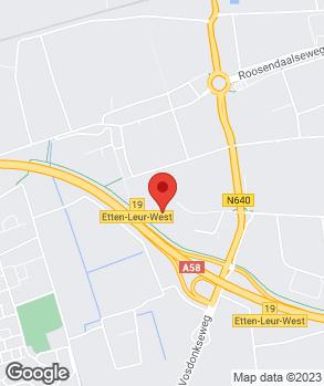 Locatie Van Tilburg-Bastianen B.V. op kaart