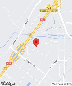 Locatie Suzuki Centrum Roosendaal op kaart