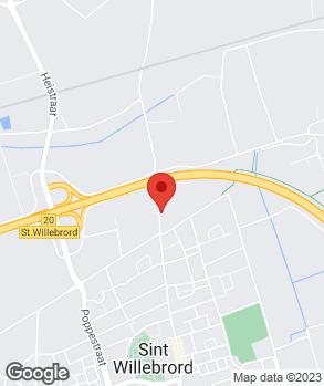 Locatie A. van Laerhoven op kaart
