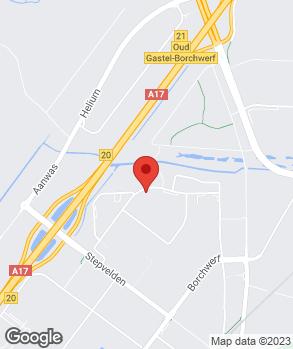 Locatie Automobielbedrijf G. van Hensbergen B.V. op kaart