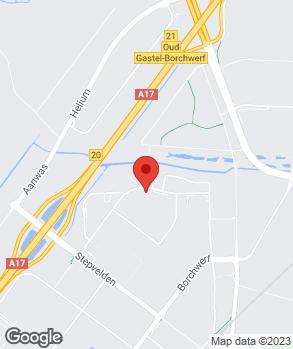 Locatie Leendert van den Born Roosendaal op kaart