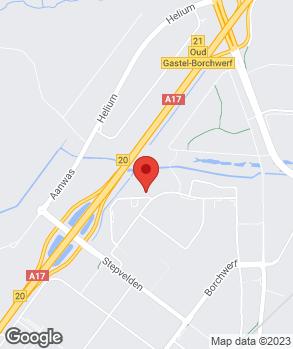 Locatie Zwartepoorte Roosendaal B.V. op kaart