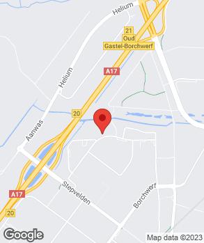 Locatie Van de Ree Roosendaal B.V. op kaart