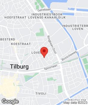 Locatie S.S.T. (Sportscar Service Tilburg) op kaart