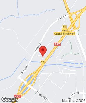 Locatie Audi Centrum Roosendaal op kaart