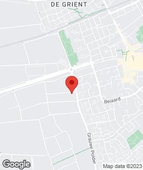 Locatie Auto Hommel B.V. op kaart