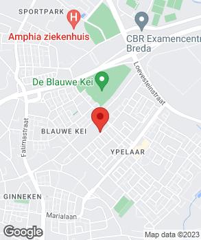 Locatie De Renaultspecialist op kaart