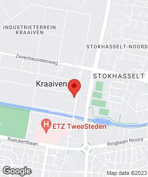 Locatie OPC Tilburg op kaart