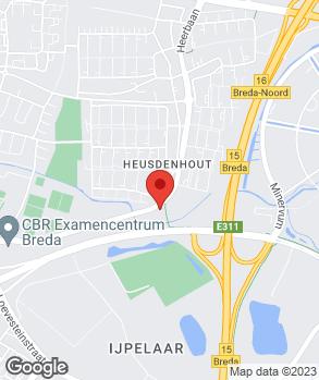 Locatie Auto Service Helmonds op kaart