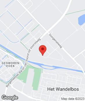 Locatie Autobedrijf BNA op kaart