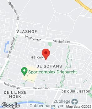 Locatie Autobedrijf A. Mutsaers op kaart