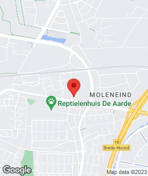 Locatie Autobedrijf Rugee B.V. op kaart