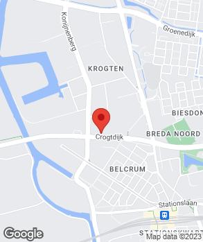 Locatie Van Dorst Breda B.V. op kaart