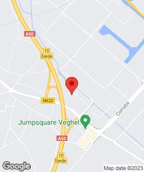 Locatie Autobedrijf Gebr. Vos Veghel B.V. op kaart