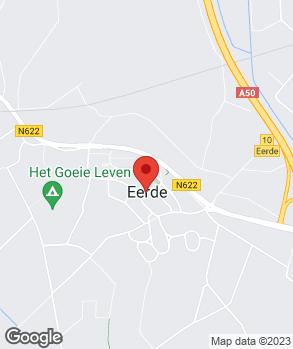Locatie van der Eerden Auto's op kaart