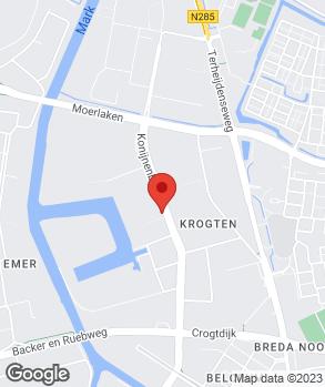 Locatie Van Tilburg-Bastianen op kaart