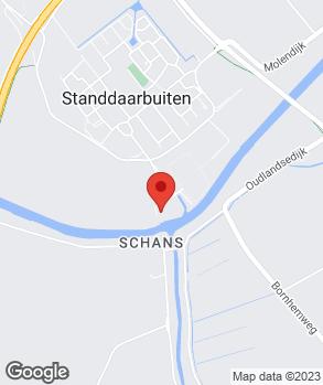 Locatie De Wijs Auto's B.V. op kaart