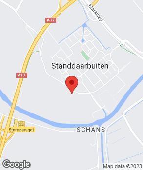 Locatie J. Santbergen Auto's B.V. op kaart