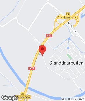 Locatie Autobedrijf Verhoeven op kaart