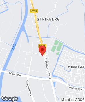 Locatie Autobedrijf Bovak op kaart