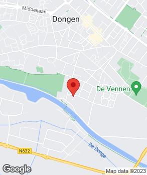 Locatie Kees Geerts-Dongen op kaart