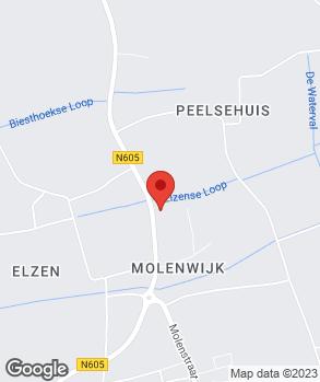 Locatie Autobedrijf Jan Wijdeven op kaart