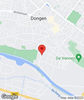 Locatie De Bandenhoek op kaart
