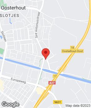 Locatie Garage Bedrijf Gerard Braat op kaart