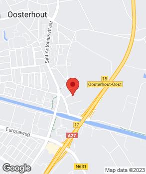 Locatie Leendert van den Born Oosterhout B.V. op kaart