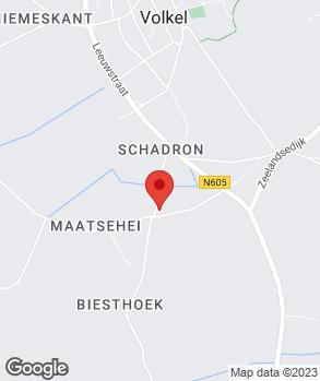 Locatie Th. Cornelissen op kaart