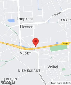 Locatie Iwan van Lankvelt auto's op kaart