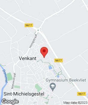 Locatie Autoschadebedrijf Sebregts op kaart
