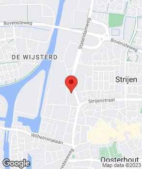 Locatie Autobedrijf Fokkema Oosterhout B.V. op kaart